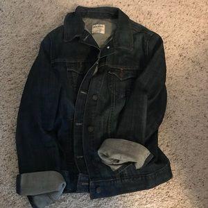 Women's Old Navy Dark Blue Jean Jacket Size XL!